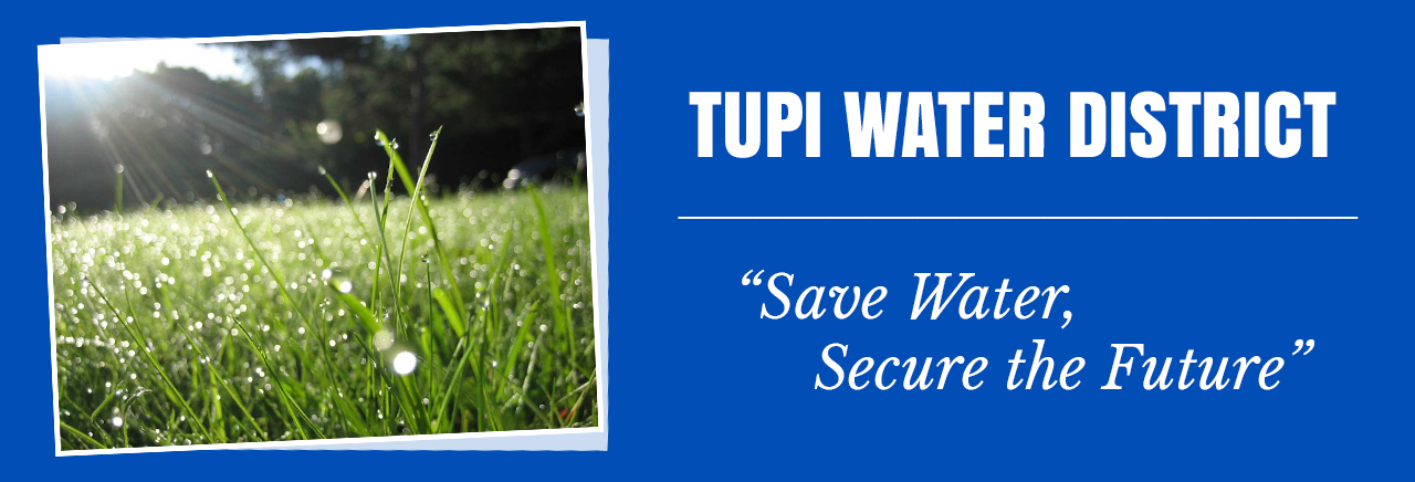Tupi Water District Slider
